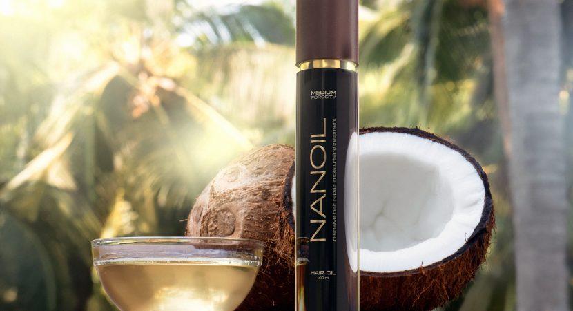 Olio per capelli Nanoil